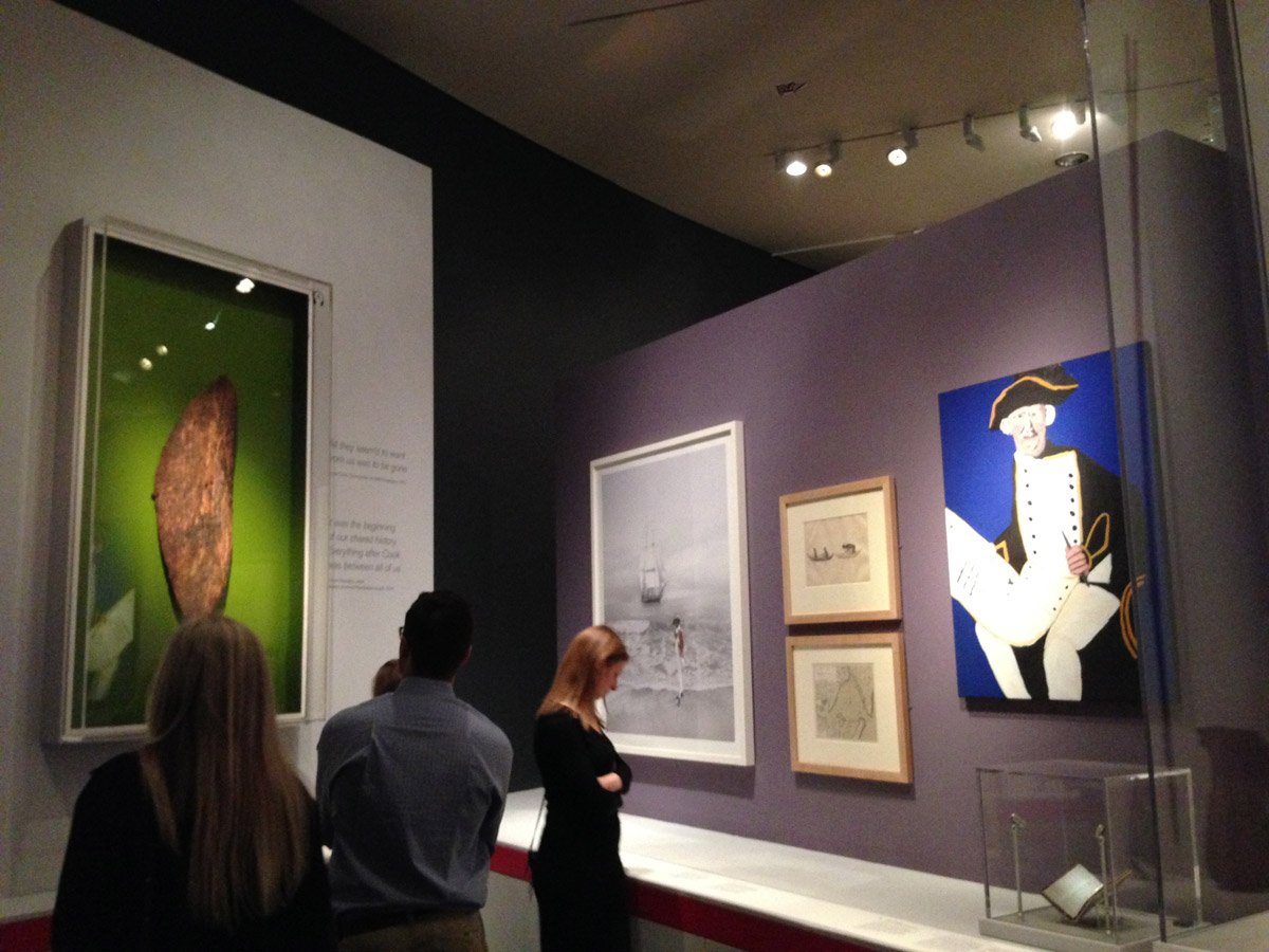 Vincent Namatjira in British Museum exhibition on Indigenous Australia